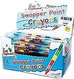 12 x Swop Point Crayons