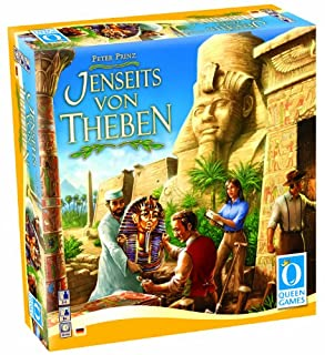 Queen Games 6046 - Jenseits von Theben, Brettspiel (B000O77RIC) | Amazon price tracker / tracking, Amazon price history charts, Amazon price watches, Amazon price drop alerts