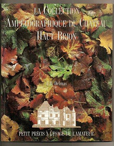 La collection ampelographique du chateau haut-brion : petit precis a l'usage de l'amateur (Diffusion Vivis) (Vivi Collection)