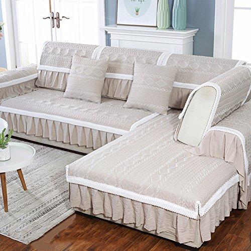 M&xgf copridivano salvadivano per divano con penisola protettore mobili,reversibile trapuntata protector,migliore anti-scivolo coprire con cinghia elastica -1 pezzo-b 90x210cm(35x83inch)