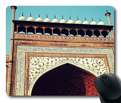 hohp-vintage-mouse-pad-con-taj-mahal-entry-gate-wallpaper-neoprene-rubber-standard-size-229-cm-220-m