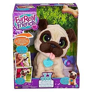 Hasbro FurReal Friends B0449EU4 – JJ, mein hopsender Mops, elektronisches Haustier