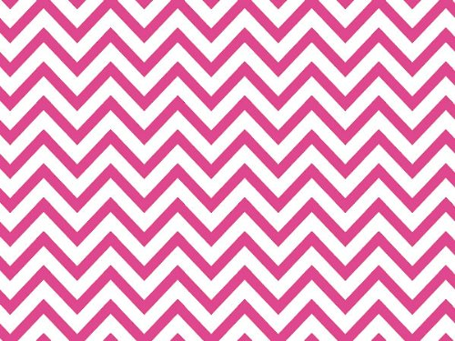Hot Pink Chevron Stripe12020 inch X30 inch Half Ream Recycled 120 pack
