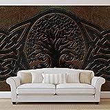 Keltisches Muster - Wallsticker Warehouse - Fototapete - Tapete - Fotomural - Mural Wandbild - (2831WM) - XXL - 312cm x 219cm - VLIES (EasyInstall) - 3 Pieces