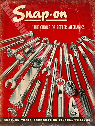 "Snap-on tools ""The Choice of Better Mechanics"" Vintage for sale  Delivered anywhere in UK"