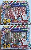 24 Minisüßigkeiten-Stöcke - Weihnachten, das Füller - Weihnachten-Parteitaschen (PM53) Versieht
