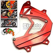 BJ Global - Tapa de protección de piñón delantero para motocicleta, panel izquierdo, cubierta de Motor y de la cadena, para Kawasaki-z8002013-2015