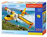 Castorland B-030026 - Fire Fighting Aircraft, Puzzle 300 teilig