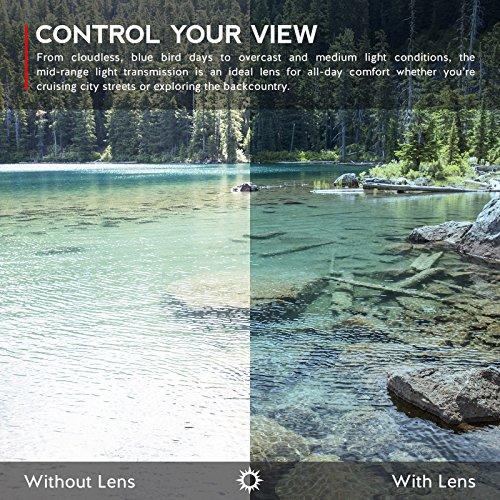 Verres de rechange pour Oakley Gascan Small — Plusieurs options Rouge Reu MirrorShield® - Polarisés