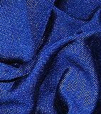 Seidenjersey dunkelblau, 0,5 Meter