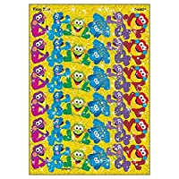 72 x Frog Fun Sparkle Stickers