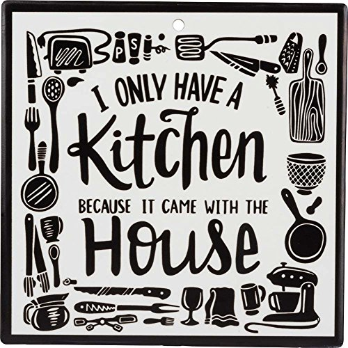 Keramik Küche Untersetzer-I Only Have A Kitchen Because It Came With The House Gourmet Cooking-gadgets