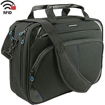 KROSER Laptop Bag 15.6 inch Briefcase Laptop Messenger Bag Water Repellent Computer Case Tablet Sleeve with RFID Pockets for College//School//Business//Women//Men-Blue TAM-2802F-JeansBlue