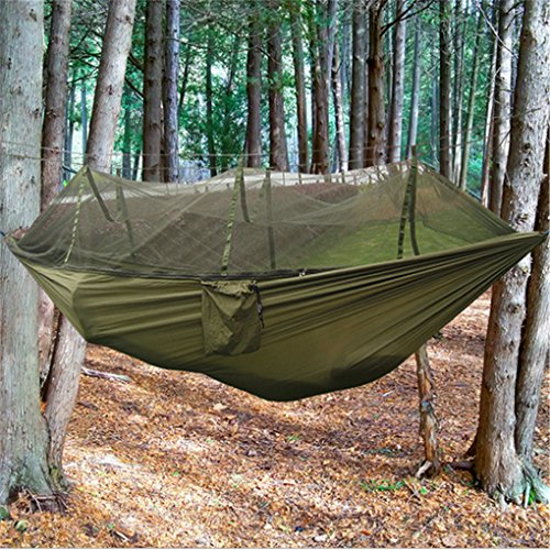 Top aus fallschirmmaterial Camping Hängematte mit Moskitonetz - 5