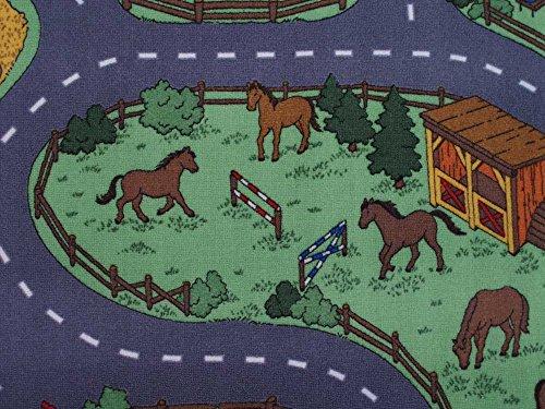 Spielteppich Bauernhof
