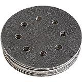 FEIN Schleifblätter | Korn 80 | Durchmesser 115 mm | rund und gelocht | Inhalt 16 Stück zu Multimaster, Zubehör für Schleifer