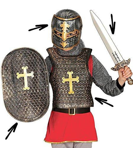 Guirca Fiestas gui18712–Medieval de Juego, niños, 4Unidades