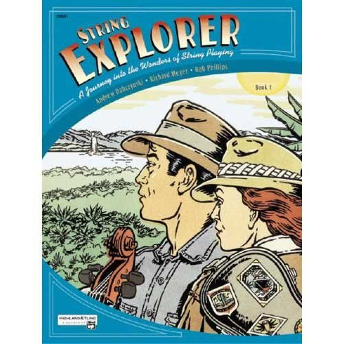 STRING EXPLORER: BOOK 1 WITH CD FOR CELLO BY ANDREW DABCZYNSKI  RICHARD MEYER  AND BOB PHILLIPS