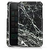 DeinDesign Apple iPhone 3Gs Housse étui Coque Protection Look Marbre Noir Marbre Noir Marbre