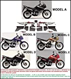 Kit adesivi decal stikers HONDA TRANSALP XL 600 V 1997-1999 (INDICARE IL MODELLO A o B o C o D o E)