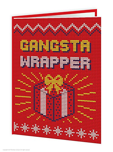 Funny Humorvolle 'Gangsta Wrapper