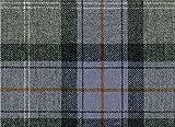 Country Tweed | 100% Reine Wolle | Stoff Meterware |Grey