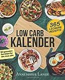Produkt-Bild: Low Carb Kalender: 365 abwechslungsreiche und kohlenhydratarme Rezepte für das neue Jahr - Tageskalender 2018