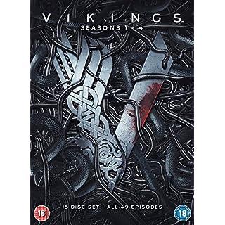 Vikings - Seasons 1-4 [DVD] [2017]