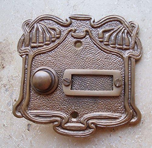 Graf von Gerlitzen Antik Messing Klingel 1 Jugendstil gebraucht kaufen  Wird an jeden Ort in Deutschland