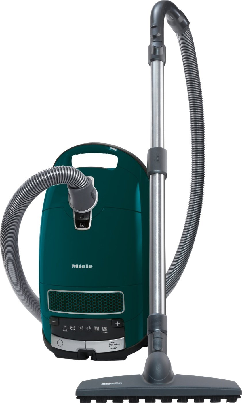 Miele Complete C3 Total Care EcoLine Bodenstaubsauger (mit Beutel, 4,5 l Staubbeutelvolumen, 550 Watt, 13 m Aktionsradius, inkl. umfangreichen Zubehör für nahezu jedes Reinigungsproblem) grün