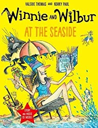 Winnie and Wilbur at the Seaside (Paperback & CD) by Valerie Thomas (2016-09-01)