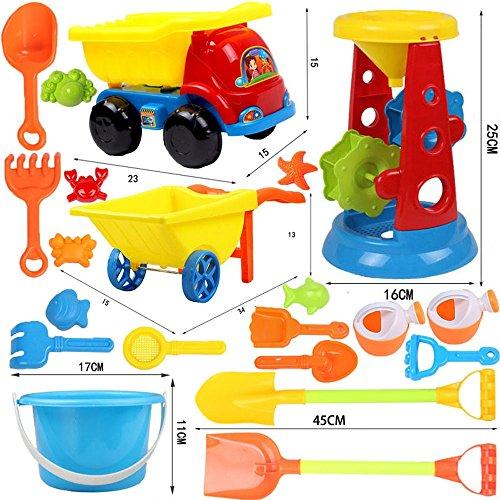 Juguete de playa para niños Juego de coches Excavadora grande Niño...