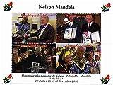 Nelson Mandela Sondermarken für Sammler - Feiern des Lebens und des Todes von Südafrikas erster schwarzer Präsident mit Präsident Bill Clinton - Post - Superb Zustand - 2013 / Mali / 750F