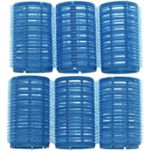 COSE DI DONNA® Rulos de Velcro adhesivos grandes para el pelo rizar el cabello cuidado peinados rizos suaves 6 Accesorios baño Bigudíes y accesorios Plástico