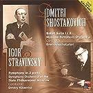 Dmitri Shostakovich / Igor Stravinsky