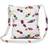 JEH BAGS Men's & Women's Sling Bag Messenger Cross Body Bag with Stylish Design and Distress Finish (Multicoloured)