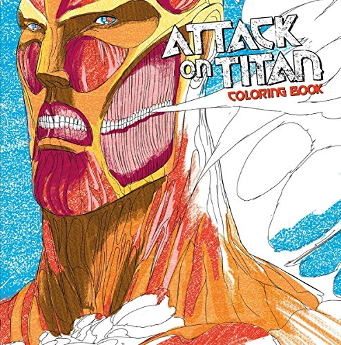 Attack on Titan Adult Coloring Book por Hajime Isayama