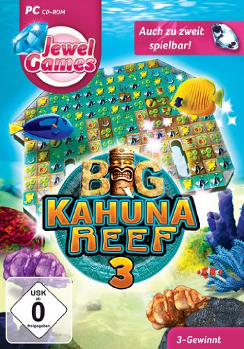 Jewel Games: Big Kahuna Reef 3