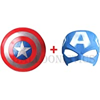 Balloonistics Captain America Basic Printed Shield and Mask Combo for Kids