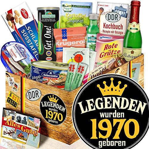 Legenden 1970 - Spezialitäten Box Ostpaket - Geburtstag 50