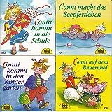 4 Pixi-Bücher aus PIXI-Serie 110: Nr. 929 Conni zieht um; 930 Conni geht zum Zahnarzt; 931 Conni und das neue Baby; 932 Conni geht zum Arzt.