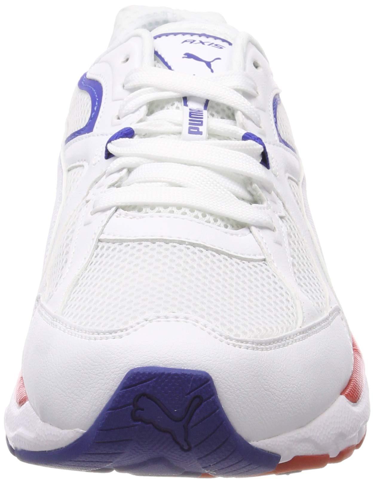 Dettagli su Puma axis plus 90s scarpe da fitness unisex adulto bianco white 36 eu (Oav)