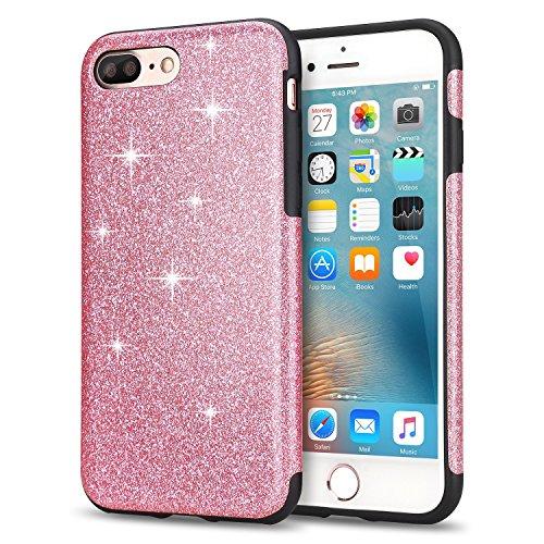 funda-iphone-7-plus-tendlin-lujo-bling-glitter-flexible-tpu-silicona-hibrida-suave-chispa-carcasa-pa