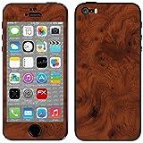 """Skin Apple iPhone 5S / SE """"FX-Wood-Root"""" Designfolie Sticker"""