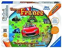 """Un jeu familial pour voyager et apprendre ! Tiptoi vous emmène dans un jeu familial captivant au coeur de la France ! Dans le mode """"Découvrir"""" : - Découvrez le pays à travers ses régions, ses villes et ses reliefs. - Ecoutez de nombreuses information..."""
