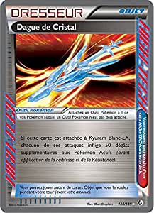 carte POKEMON Frontières Franchies - DAGUE DE CRISTAL - 138/149 ACE Rare