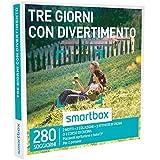 Smartbox - Cofanetto Regalo - TRE GIORNI CON DIVERTIMENTO - 280 soggiorni con attività in agriturismi e hotel 3*