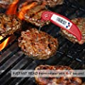 AVAX DT-X - Folding Digital LCD Food Thermometer Kitchen Cooking Probe for Wine, Food, Meat, Steak, Turkey, BBQ, Yerba Mate, Milk, Sugar, etc. - Temperature range: -50C to 300C / -58F to 572F