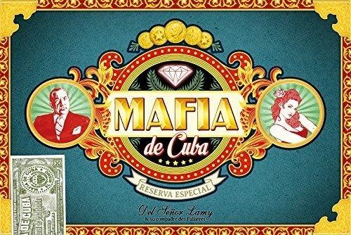 Asmodee nbsp;–Mafia von Kuba–Gesellschaftsspiel (französische Version)