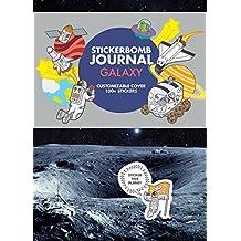 Stickerbomb journal galaxy
